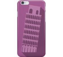 World landmark, Leaning Tower of Pisa, Italy iPhone Case/Skin