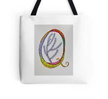 Letters - Q/1 Tote Bag