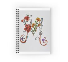 Letters - M/1 Spiral Notebook