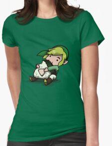 Power, Courage, Wisdom-nom-nom Womens Fitted T-Shirt
