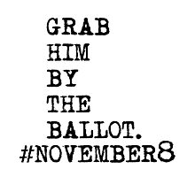 Grab Him by the ballot Photographic Print