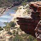 red rocks to the river by stickelsimages
