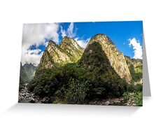 Urubamba Valley Greeting Card