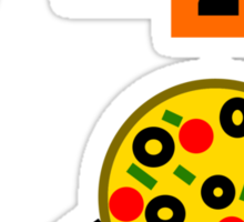 Who Ordered Pepperoni? Sticker