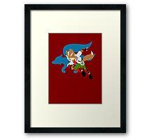 Super Smash Bros Fox Framed Print