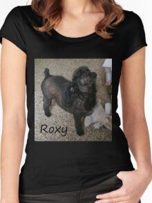 Roxy Doggie Women's Fitted Scoop T-Shirt