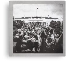 Kendrick Lamar - To Pimp A Butterfly Album Cover Art Canvas Print