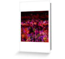 Distant City Greeting Card