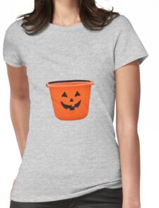 Spooky bucket hat Womens Fitted T-Shirt