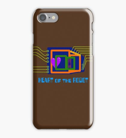 The Heart of the Robot iPhone Case/Skin