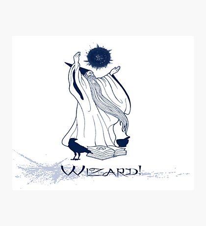 Wizard!!! Photographic Print