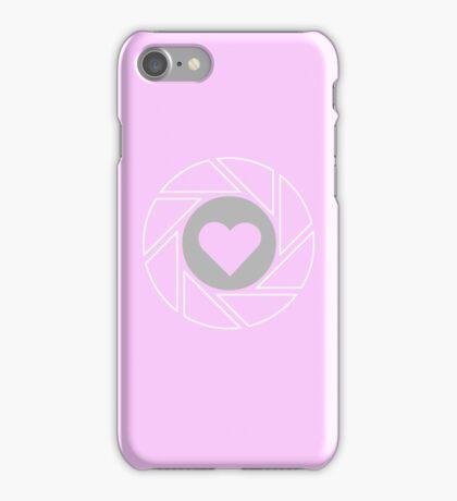 Companion - Portal (pink) iPhone Case/Skin
