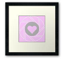 Companion - Portal (pink) Framed Print