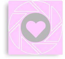 Companion - Portal (pink) Canvas Print