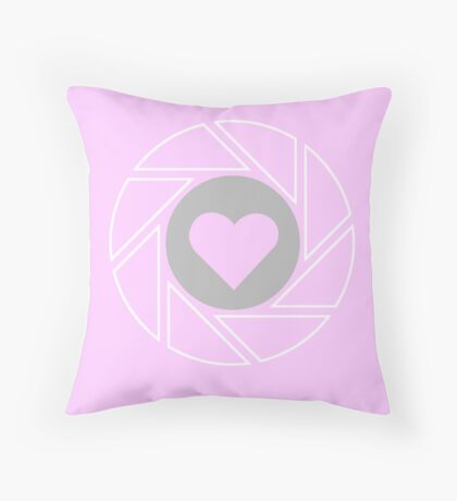 Companion - Portal (pink) Throw Pillow