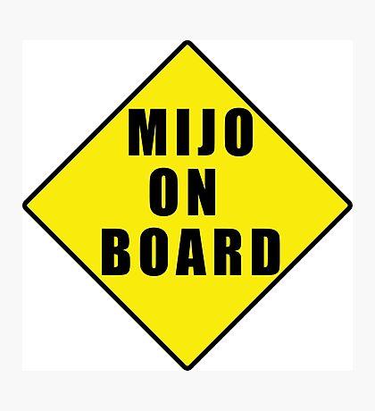 Mijo on board Photographic Print