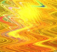 Goldenrod Waves by KimSyOk