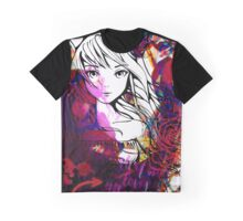 Love Collage - Anime Style Graphic T-Shirt