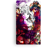 Love Collage - Anime Style Canvas Print