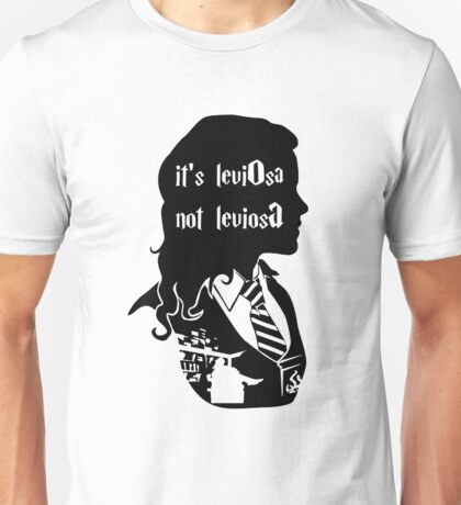 it's leviOsa not leviosA Unisex T-Shirt