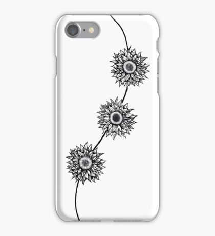 Sunflowers in California iPhone Case/Skin