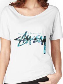 stüssy Women's Relaxed Fit T-Shirt