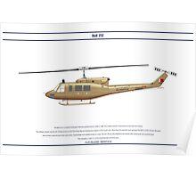 Bell 212 Bahrain 1 Poster