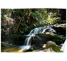 Leura Cascades Blue Mountains Poster