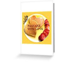 pancake valentines Greeting Card