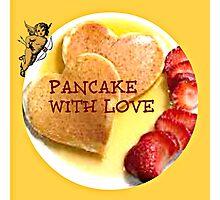 pancake valentines Photographic Print