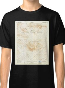 USGS TOPO Map California CA Alvord Mountain 296691 1951 62500 geo Classic T-Shirt