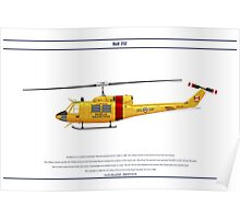Bell 212 Canada 2 Poster
