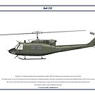 Bell 212 Colombia 1 by Claveworks