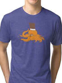 Mr. Octopus Tri-blend T-Shirt