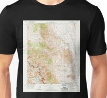 USGS TOPO Map California CA Big Pine 296812 1958 62500 geo Unisex T-Shirt