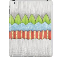 leaves waves and petals iPad Case/Skin