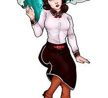 Bioshock Infinite: Elizabeth by mariafumada