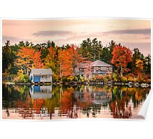Squam Lake, New Hampshire Poster