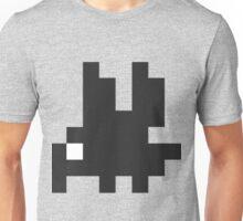 Mini Pixel Black Bird Unisex T-Shirt