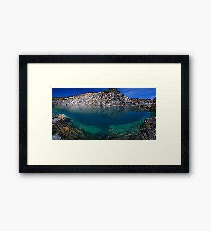 Perth hill's, Western Australia Framed Print