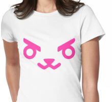 OVERWATCH D VA Womens Fitted T-Shirt
