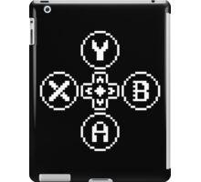 Buttons Quadrilogy - Contrast Design - White iPad Case/Skin