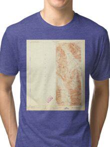 USGS TOPO Map California CA Ballarat 299735 1908 250000 geo Tri-blend T-Shirt