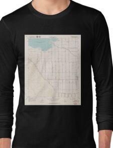 USGS TOPO Map California CA Calipatria SW 302568 1956 24000 geo Long Sleeve T-Shirt