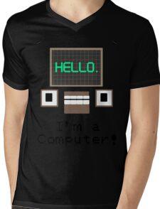 DHMIS I'm a Computer! Mens V-Neck T-Shirt