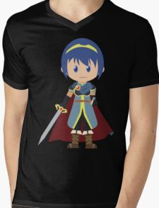 Chibi Marth Vector Mens V-Neck T-Shirt