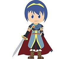 Chibi Marth Vector Photographic Print