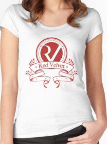 Red Velvet - Logo Women's Fitted Scoop T-Shirt