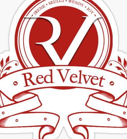 Red Velvet - Logo Sticker