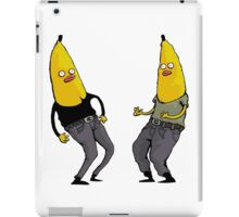 bananas in regular clothing iPad Case/Skin